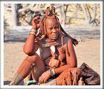 MUJER HIMBA-OPOWO-NAMIBIA