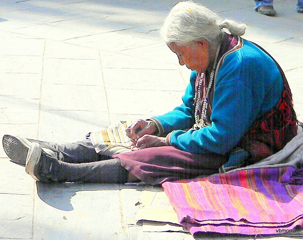 Mujer Nepali