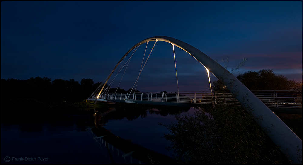 Muldebrücke in Dessau