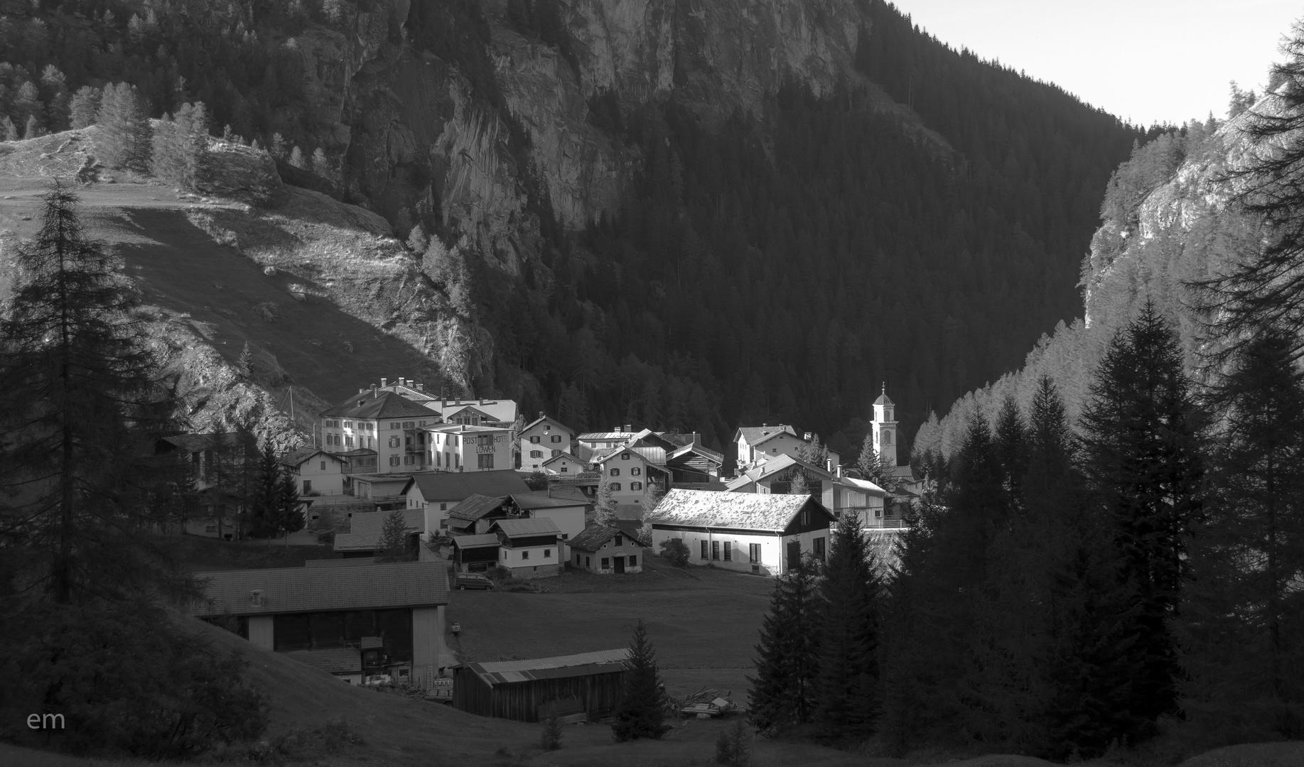 Mulegns Graubünden Schweiz
