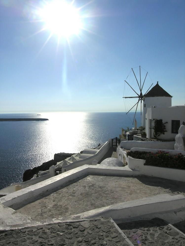Mulino a Santorini