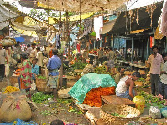 Mullik Ghat Markt