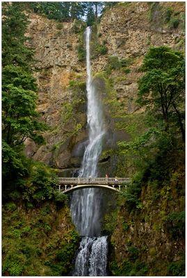 Multnomah Falls II - Columbia River Gorge N.S.A. - Oregon - USA