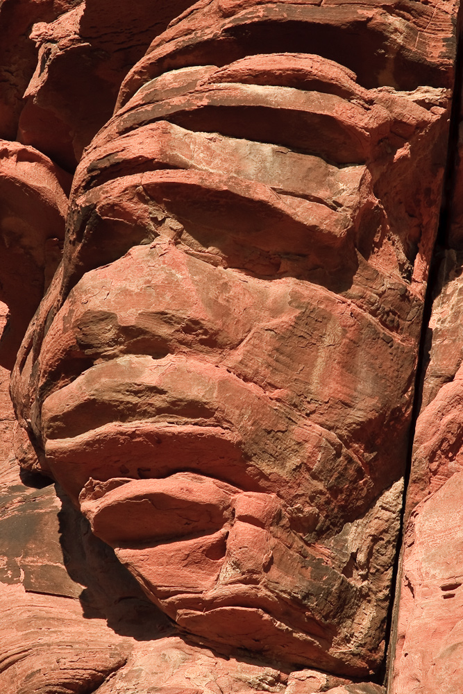 Mumie im Valley of Fire