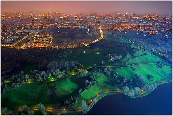 Munich City Lights....