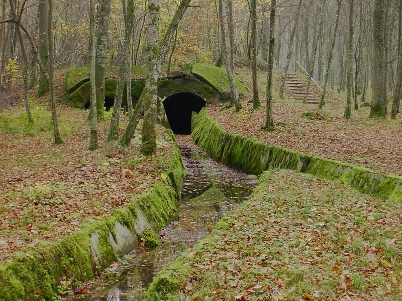 Munitionstunnel bei Verdun