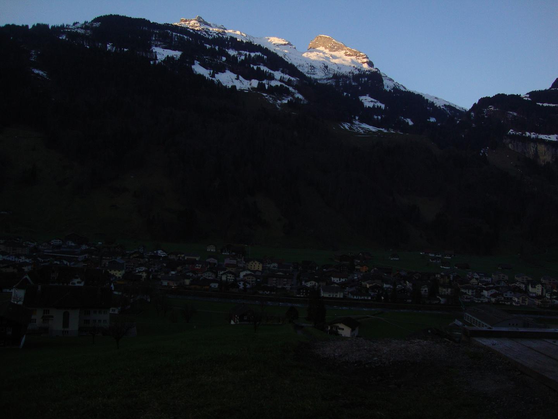 Muotathal am Morgen