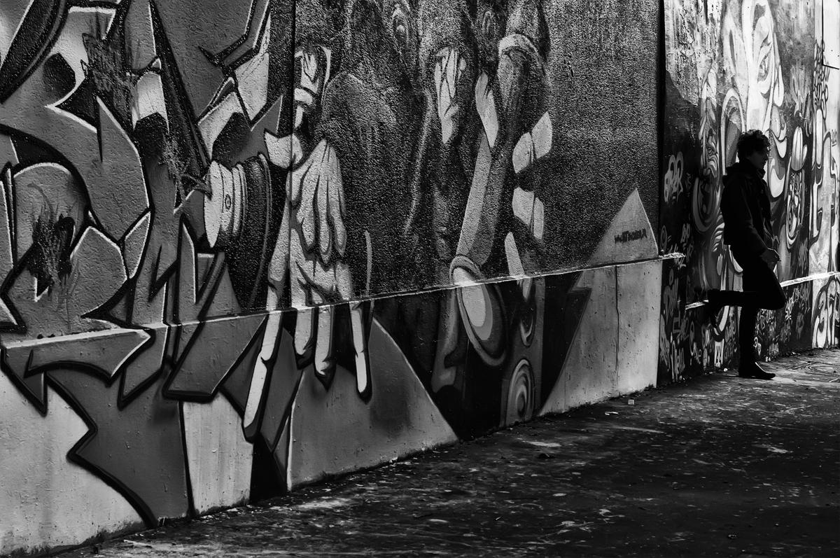 Mur de tag