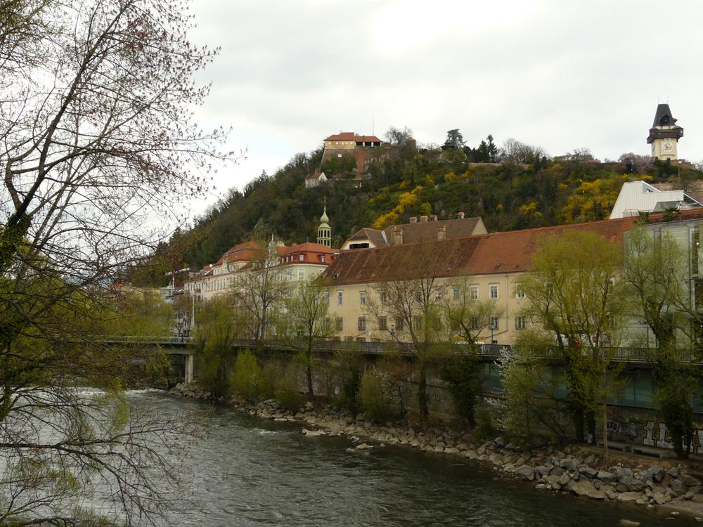 Mur vor Schloßberg