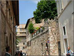 Mura a Assisi