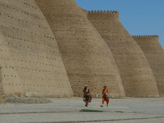 Muraille de la citadelle de Bukhara