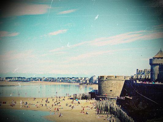 Murailles de Saint Malo , une véritable carte postale