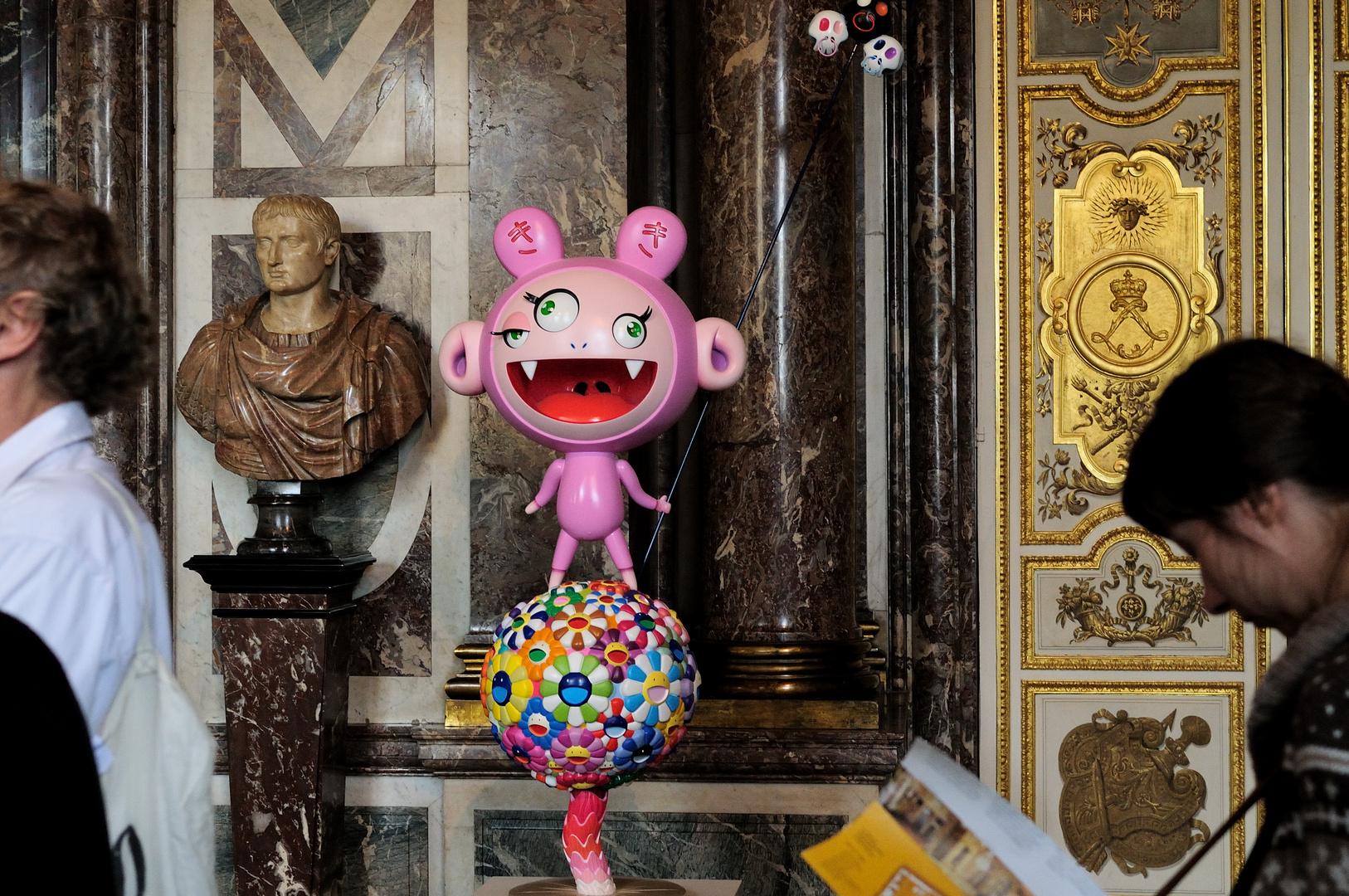 Murakami in Versailles