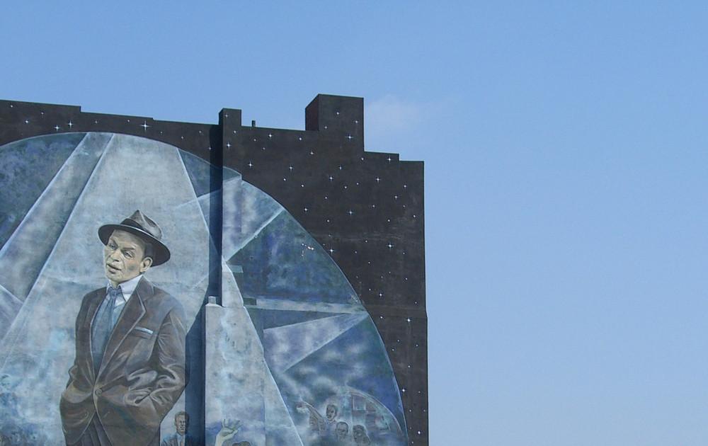 """Mural """"Frank Sinatra"""" in Philadelphia, cropped"""