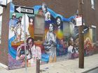 "Mural ""Jazz"" in Philadelphia"