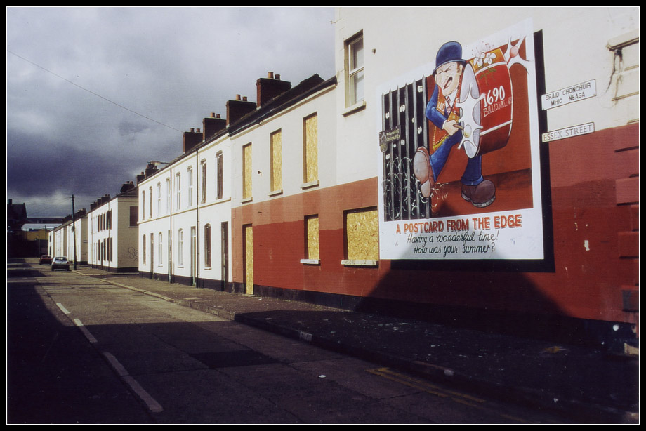Mural; Loyalist – 'the mainland' – 'the troubles' / Belfast II