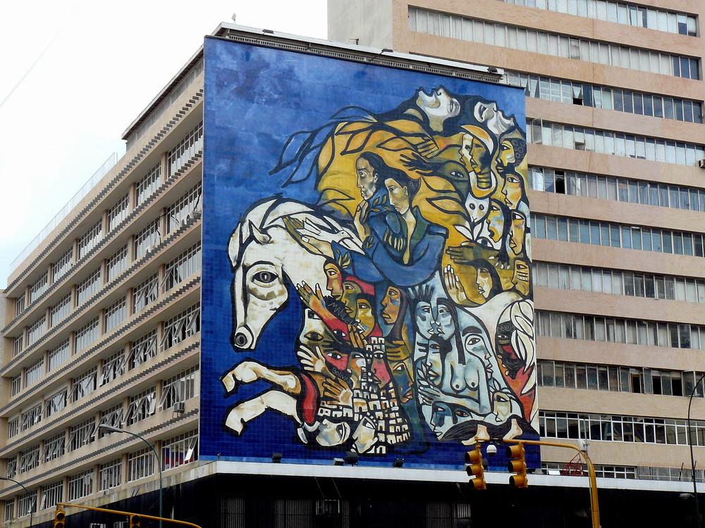 Mural urbano.