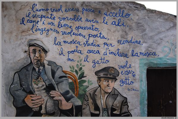 ... murales in orgosolo - (MO-13) ...