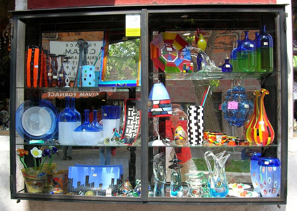 Murano produkte aus der glasbl serei foto bild - Murano bilder ...