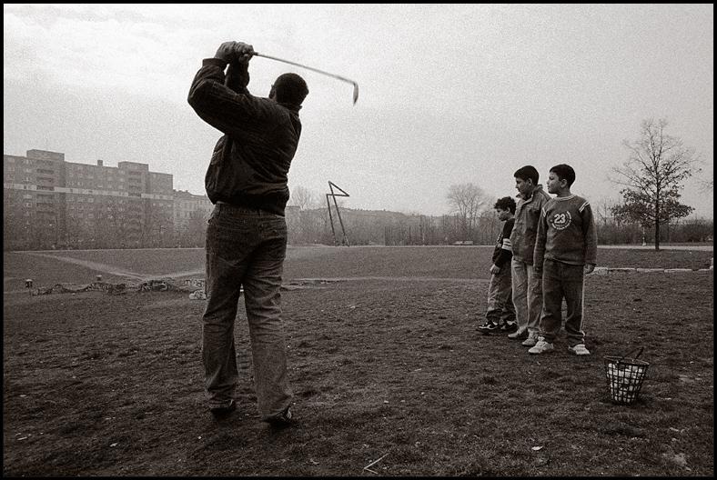 Murat spielt Golf