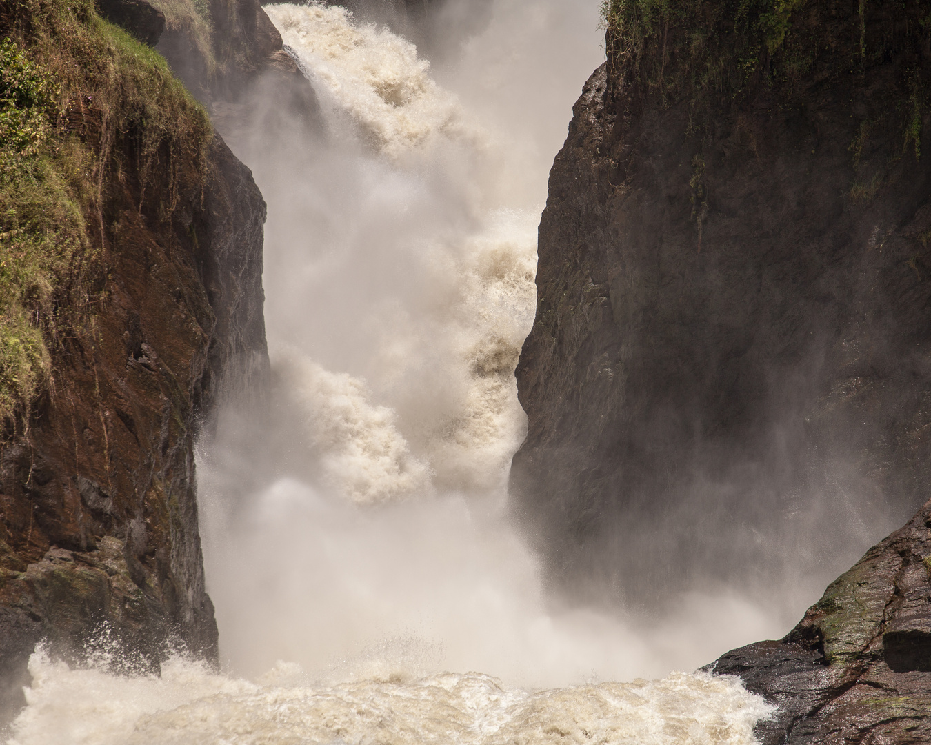 Murchison Falls am weissen Nil