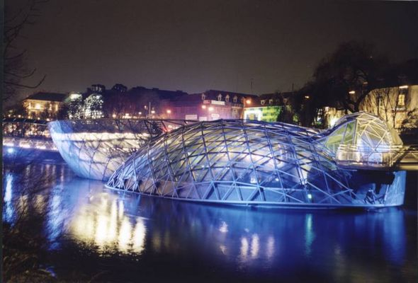Murinsel der Kulturhauptstadt Graz 2003
