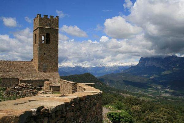 Muro de Roda (Pyrénées espagnoles)