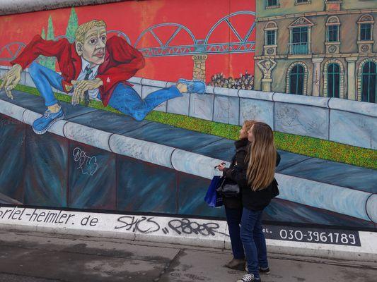 Muro di Berlino (Berliner Mauer) 25 anni dopo...