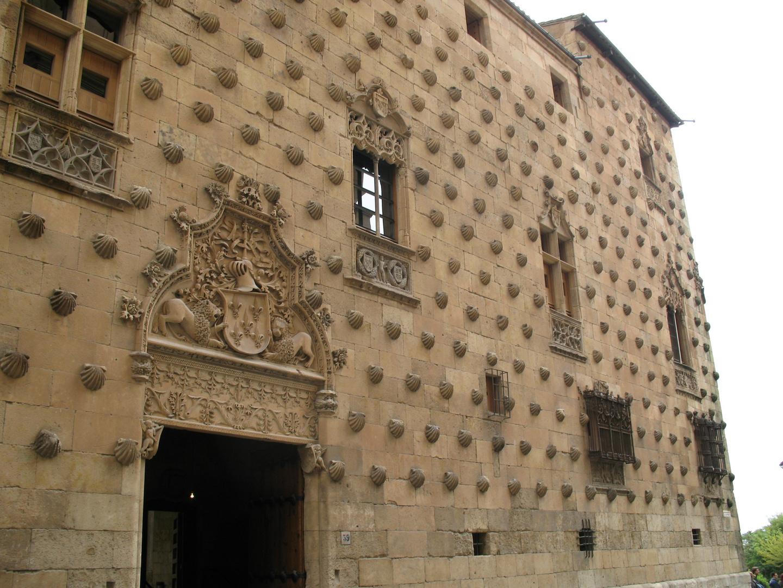 Muschelhaus in Salamanca/Spanien