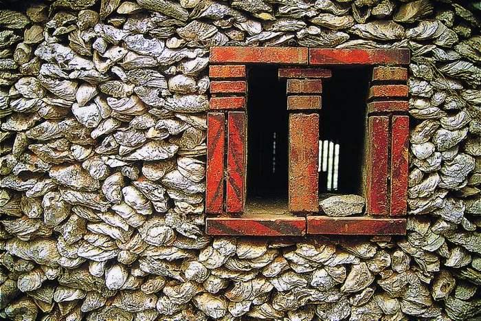 Muschelshalenmauer