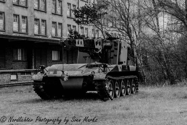 Musealer Panzer in Bad Fallingbostel