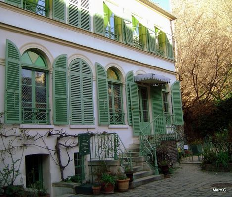 Musée de la vie romantique à Paris