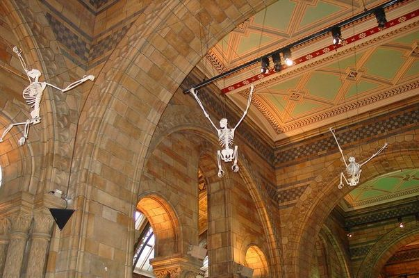 Museeum London - Da war leider noch Strom drauf...