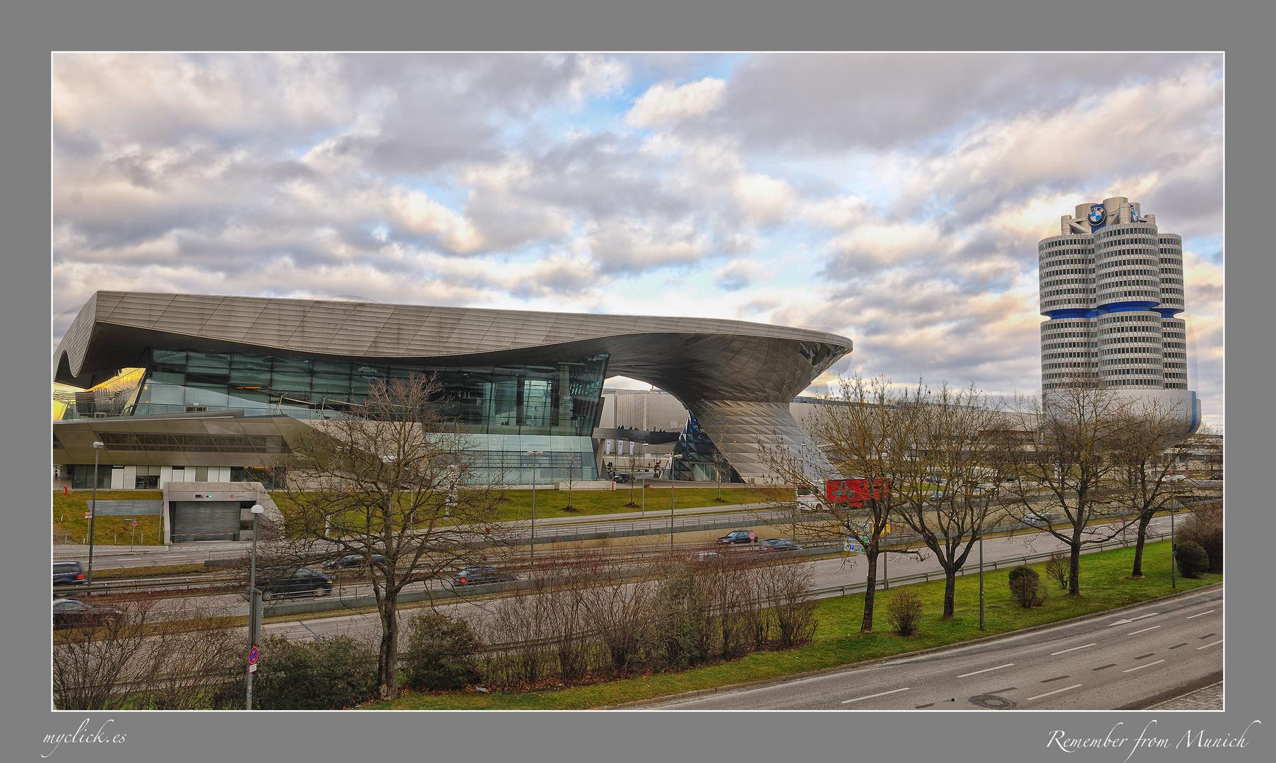MUSEO DE LA BMW PARQUE OLIMPYA-MUNICH