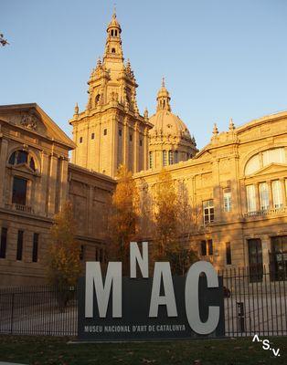 MUSEO NACIONAL DE ARTE CONTEMPORÁNEO EN BARCELONA