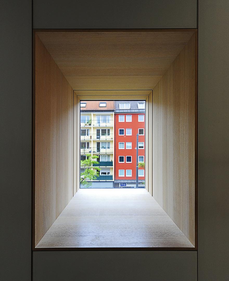 Museum Brandhorst - Fensterblick