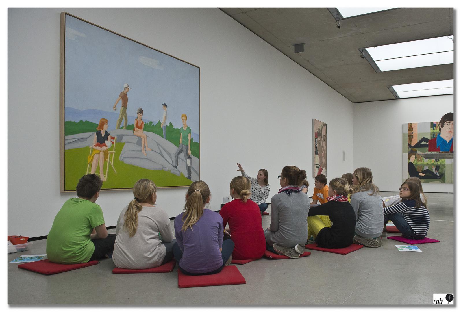 Museum der Moderne; Salzburg - school goes art #1