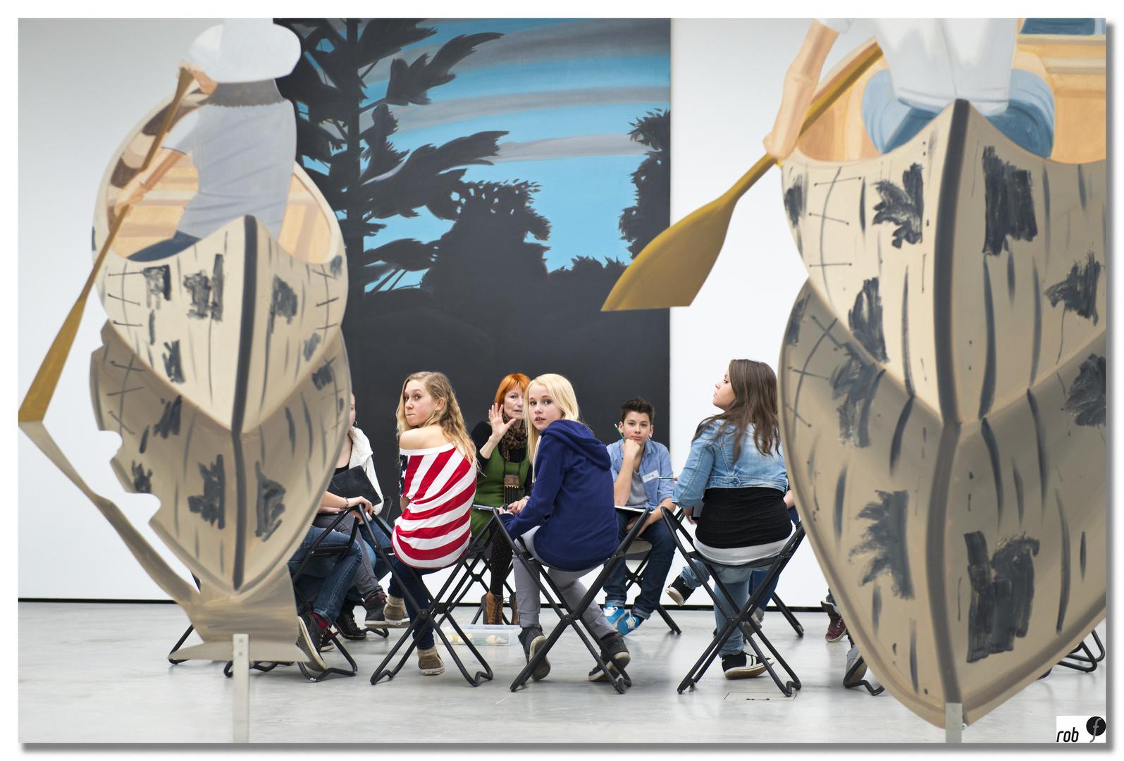 Museum der Moderne; Salzburg - school goes art #2