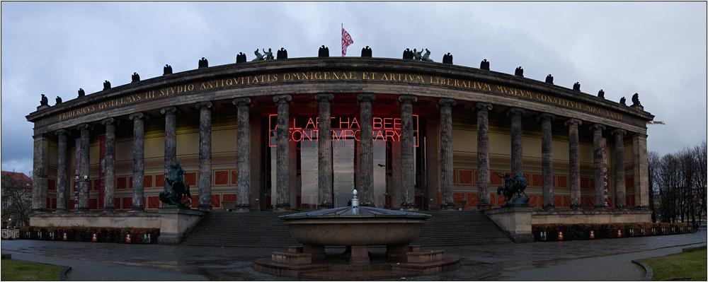 Museum im Regen