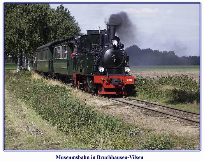 Museumsbahn in Bruchhausen-Vilsen