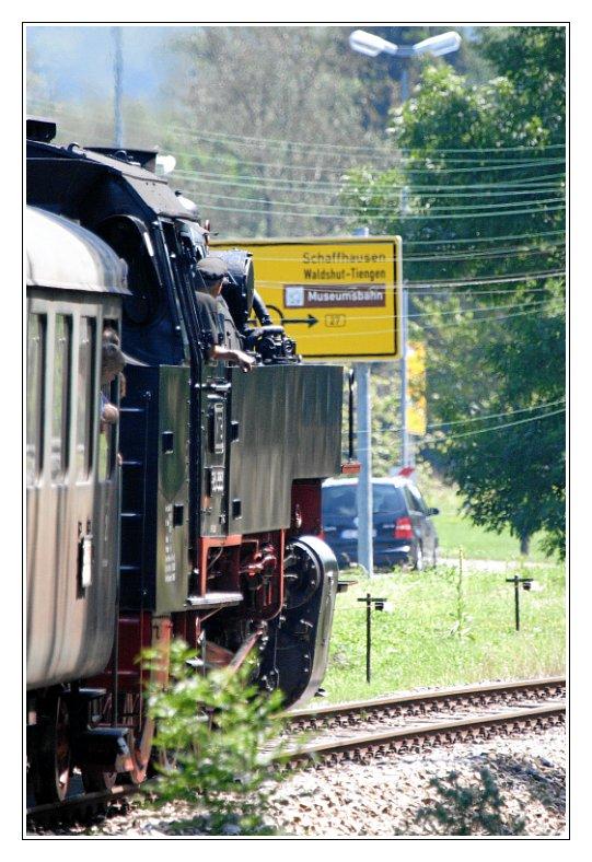 Museumsbahn: Rechts abbiegen!
