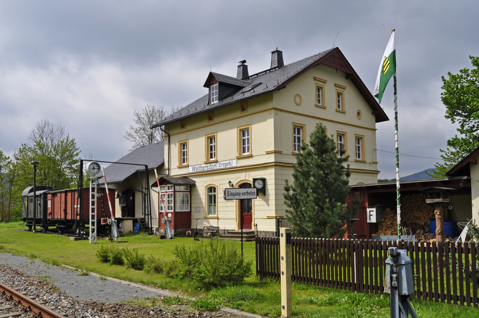 Museumsbahnhof Walthersdorf/Erzgebirge