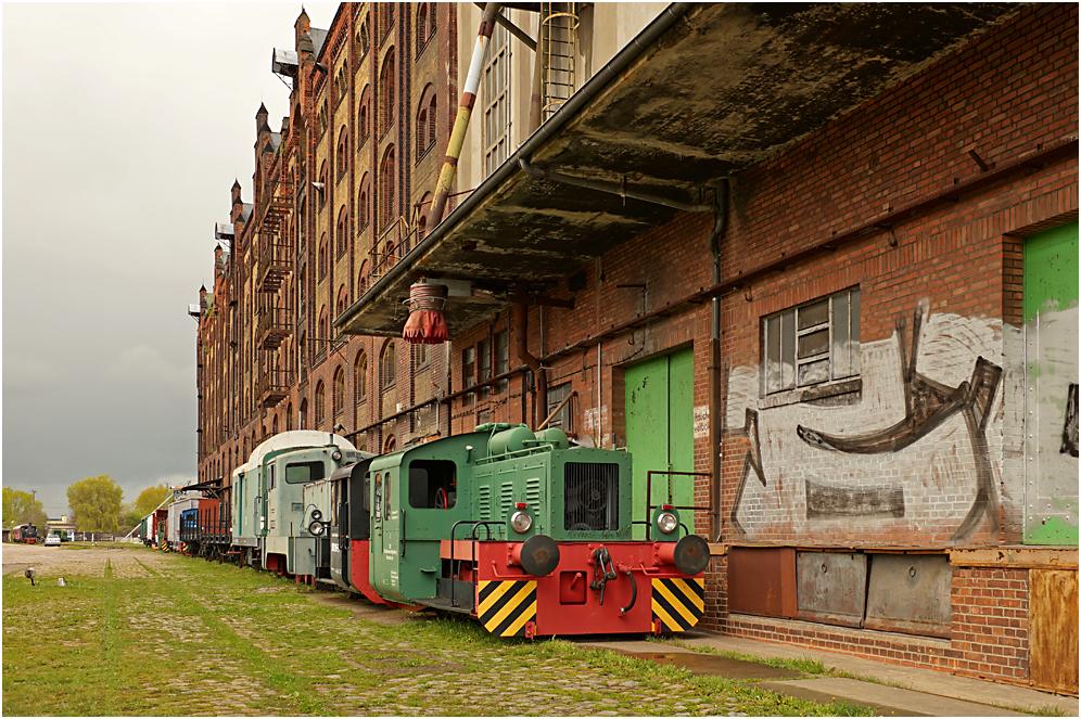 Museumshafen und Eisenbahnmuseum Magdeburg 04