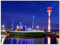 Museumsschiff im Fischereihafen