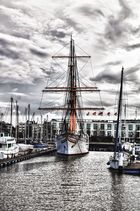 """>>Museumsschiff """"Mercator""""<< Oostende, Belgien"""