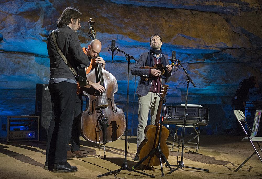 Music: Bluegrass Underground - Andrew Bird (Sound Check)