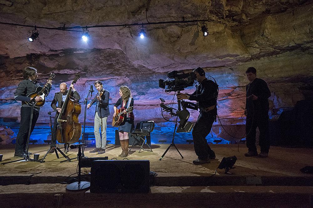 Music: Bluegrass Underground - Filming Andrew Bird