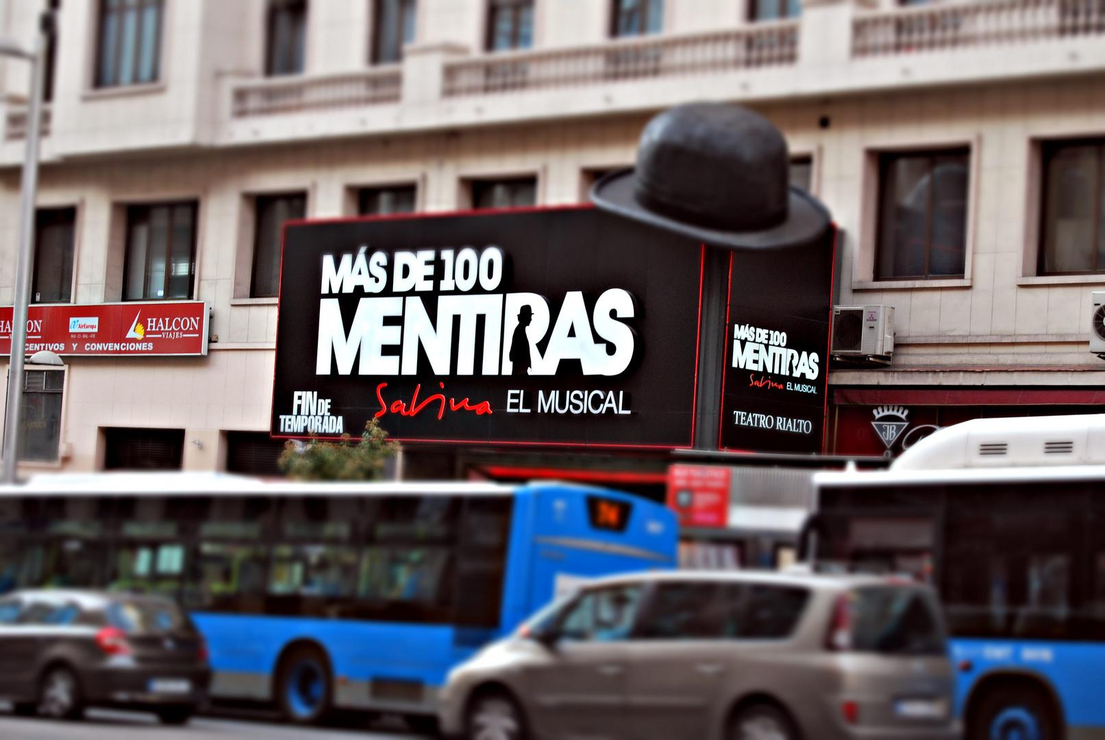 Musical, Sabina. +de100mentiras.