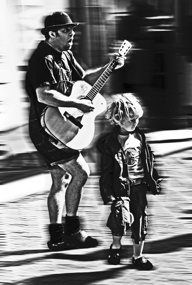 Musicante e Figlio