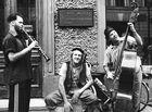 Musicants on the Saint-Petersburg`s street